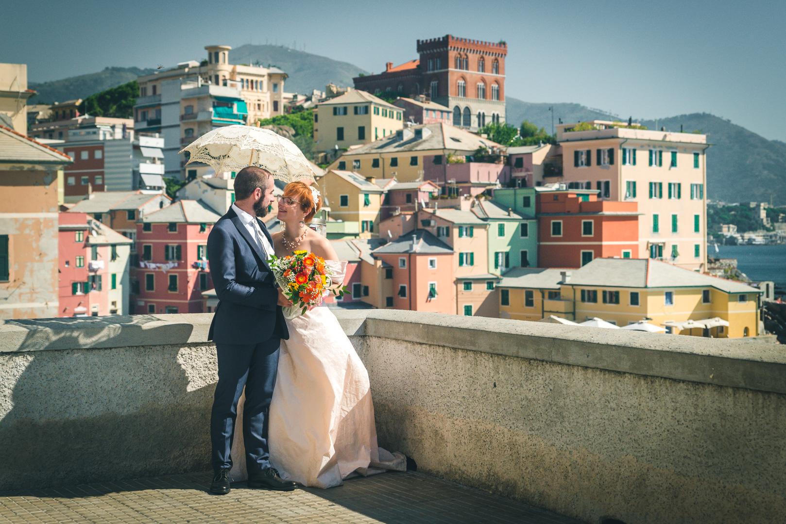 Sposi a Genova Boccadasse
