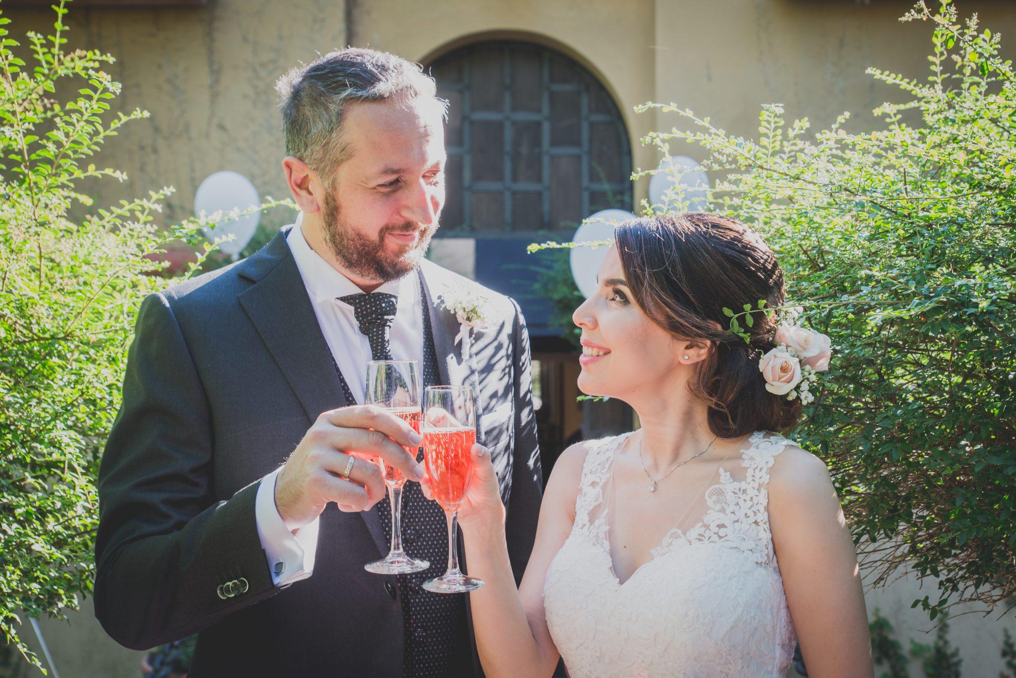Brindisi sposi con spritz